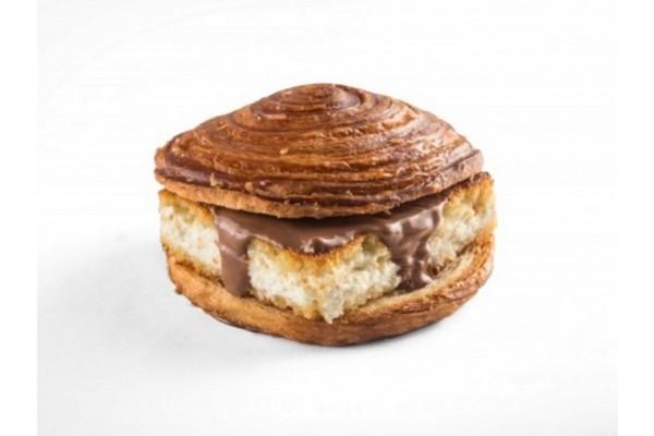Knefe Chocolate & Kashta (Croissant)