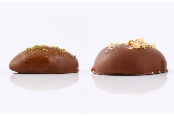 Maamoul Chocolate Pistachios & Hazelnut (Mini)