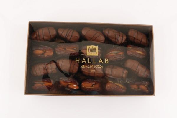 Mix Dates Almonds and Chocolate Box