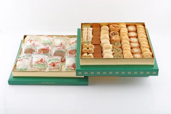 Gift Box Maamoul and Mixed baklava