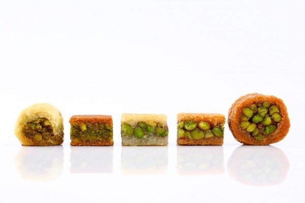 Mixed Pistachio Baklava (Sugar Free)