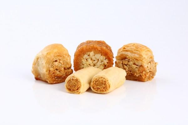 مشكل بقلاوة كاجو (خالي من السكر)
